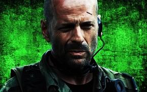 Bruce Willis, man, muzhik, face, actor, producer, link, Tears of the Sun, movie