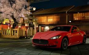 Coche, Ajustes, casa, Maserati GranTurismo, coches, Maquinaria, Coche