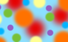 Шары, спектр, цвет, диффузия
