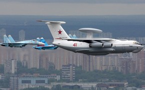 Stronghold, aircraft airborne warning and control system, bumblebee, Russian Air Force, maintenance