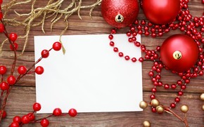 бумага, лист, ветки, ёлочные украшения, шары, Новый год