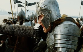 El Seor de los Anillos: El Retorno del Rey, Faramir, Senescal de Gondor, Marshal Guardabosques Ithilien, capitn de Gondor, Prncipe de Ithilien, Obispo Emin Arnen