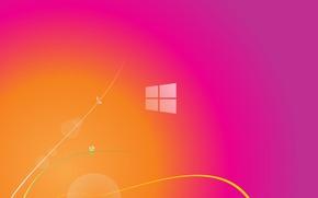 абстракция, минимализм, фон, розовый, текстура, цвет, яркий, переход, спектр, линии, Hi-Tech