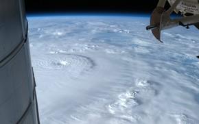 hurricane, ms, land, clouds, element