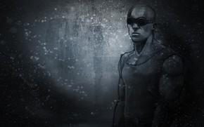 Riddick, Vin Diesel, fundo preto, culos, mujique