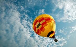 воздушный шар, спорт, небо