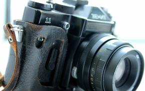 macchina fotografica, zenit, lente, caso, coprire, Macro, hi-tech