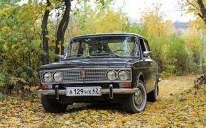 fret, Zhiguli, three, legend, retro, car, USSR, autumn, nature, background, wallpaper, Other brands