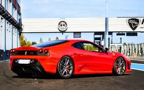 Ferrari, Scuderia, rosso, traccia, Ferrari