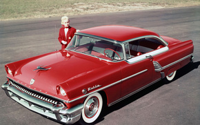 Mercury, Montclair, hardtop, compartment, red, cars, machinery, Car