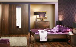 interior, Estilo, diseo, casa, apartamento, habitacin, dormitorio