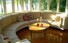 интерьер, стиль, дизайн, дом, вилла, жилое пространство