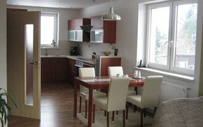 интерьер, стиль, дизайн, дом, коттедж, комната, кухня