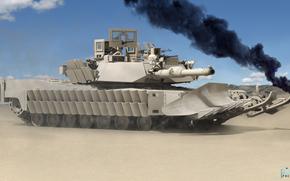 Abrams, tanque, EE.UU. tanque de batalla principal, Representacin