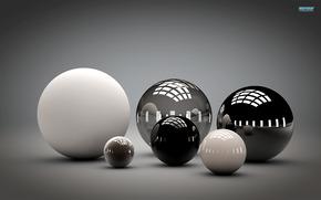Bolas, esfera, fondo