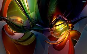 抽象化, 背景, 3D