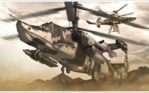 Black Shark, helicopter, aviation, Russian Air Force