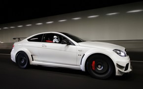 奔驰, AMG, 白, Mercedes