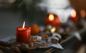 holiday, candle, background