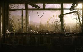 Pripyat, cidade, abandonado