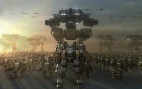 Роботы, армия, самолёты, фантастика