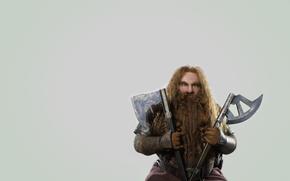 Джон Рис-Дэвис, гном, оружие, бородатый