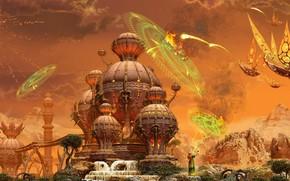 храм, монах, нападение, сражение