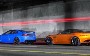 Supercars, roadster, berline, Jaguar
