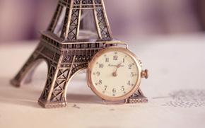 Eiffelturm, Figurine, beobachten, whlen
