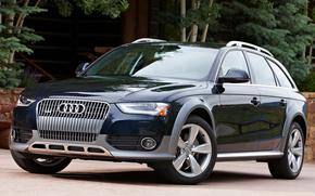 Audi, A4, allroad, Touring, cars, machinery, Car