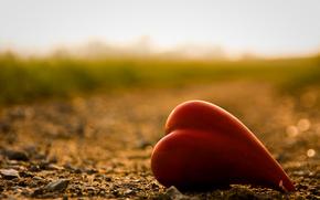 сердце, дорога, лето