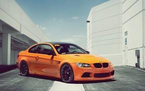 бмв, оранжевая, BMW