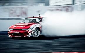Nissan, Sylvia, Treiben, rauchen, Podest, zeigen, Wettbewerb, Nissan