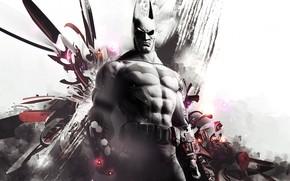 Batman, a superhero, fantasy, abstraction, video game