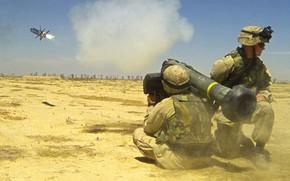 Дротик, американский переносной противотанковый ракетный комплекс, ПТРК, Армии США, выстрел, ракета, ПТУР