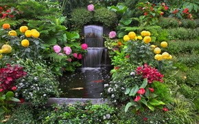花园, 性质, 花卉