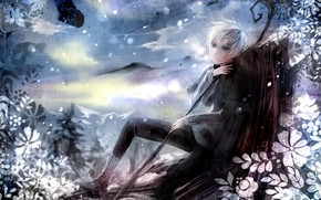 keepers of dreams, Jack Frost, character, Art