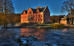 Castles (Fortress), Sweden, river, gasevadsholms, of