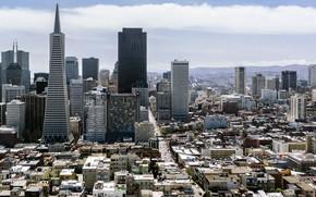 Dignity, Francisco, California, USA, sky, nebosereb, home, Street, city, cloud