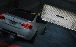 car, foreshortening, garage