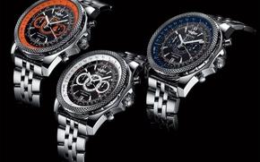 Часы, watch, breitling, bentley, supersport