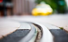 Rails, Street, macro