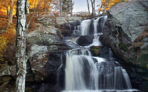 nature, waterfalls, Autumn Falls