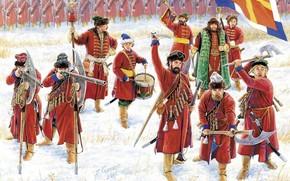 archers, taient, majeur, troupes, Russe, Arme, jusqu', , rformes