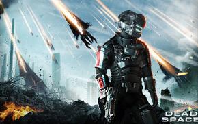 gioco, guerriero, Dead Space 3
