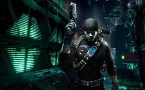 mercenario, guerriero, arma, Prey 2
