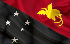 flag, Papua, New Guinea