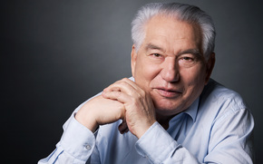 chingiz aitmatov, writer, classic, aytmatov, books, kyrgyz, chinghiz, Chingiz Aitmatov, old man, asian man, stylish background, wallpaper, anti - mankurt, Kyrgyzstan, Kyrgyz, (Kyrgyzstan), story, writer, book