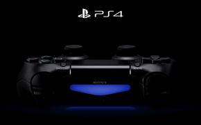 ps4, PlayStation, negro