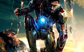 iron man 3, Iron Man 3, tony stark, Tony Stark, explosion, a superhero